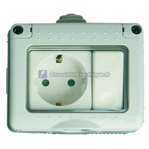 Interrupteur + de base, IP55 série imperméable à l'eau, une utilisation en extérieur, Switch: 16A, 250V, 16A.