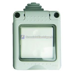 Série bouton-poussoir IP55 étanche à l'eau, une utilisation en extérieur, 16A, 250V.