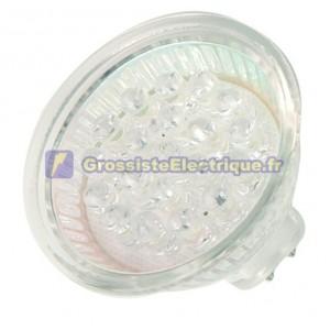 Ampoule décorative MR16 15LED jaune 12V