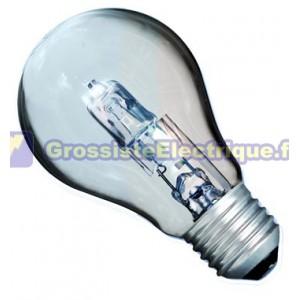 ECO ampoules halogènes 70W norme case 10 (100W) E27