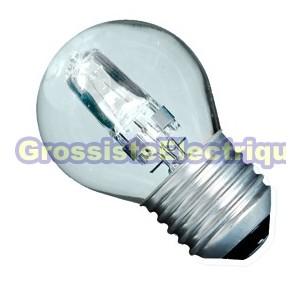 ECO Ampoules halogènes claires Encadré 10 42W sphériques (60W) E27