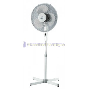 Support pivotant ventilateur 55W 3 vitesses 40 cm