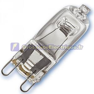 Encadré 10 ampoules 52W G9 ECO halogènes (75W)
