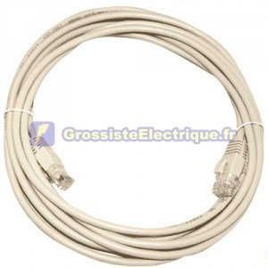 Câble de connexion internet CAT 5e UTP 2.5M