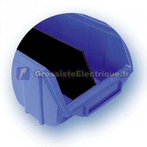 Séparateur tiroir pour empilable en polypropylène. 165x250x125mm. Inventaire. 3301671