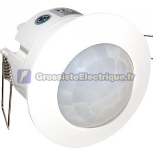 Plafond Détecteur de mouvement encastré blanc 360 230 1200W.