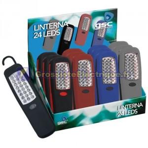 Afficher 12 pcs. 24 LED Flashlight.
