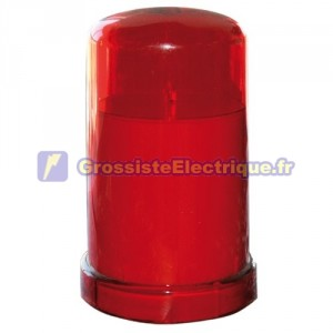 LED rouge bougie décorative - Blister, 2 x R14 (C).
