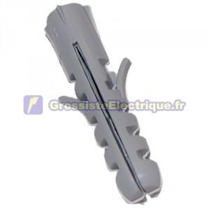 Sachet de 100 GRIS ancres en nylon de 6 mm.