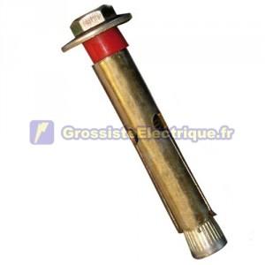 Blister de 2 vis à tôle de 8 mm pour 60 mm de béton.