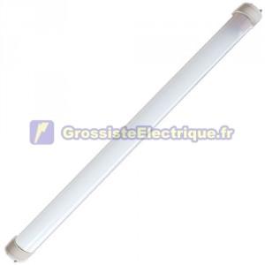 T8 LED Tube fluorescent 60cm. 45 LED 9W 6400K 700 Lm