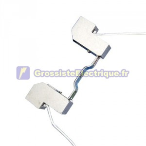 Douille R7s 78mm linéaire. pour halogènes 250V 6A linéaires de la lampe.