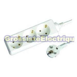 Plusieurs Base 3 coups (3T) avec câble électrique de 5 mètres, série standard