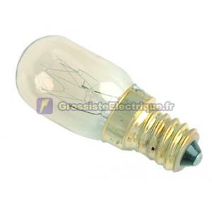 Ampoules PYGMEES Encadré 10 230V 25W E14 claire pour fours