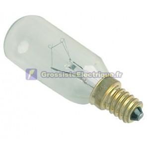 Boîte ampoules E14 40W 230V 10 tubulaire claire