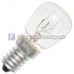 Encadré 10 ampoules de type réfrigérés 240V 15W E14 pebetera