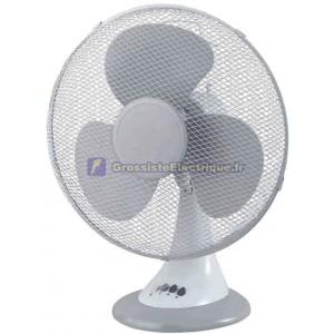 45W 3 vitesses du ventilateur de bureau 30 cm