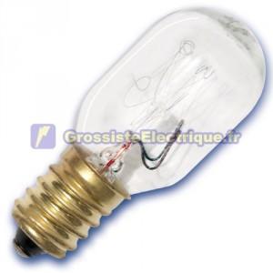 Encadré 10 réfrigérateurs ampoules tubulaires 15W E14 240V