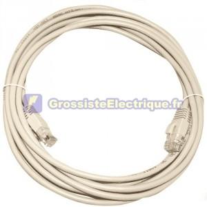 Câble de connexion internet CAT 5e UTP 7.5M