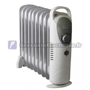 Radiateur d'huile 7 éléments Mini 700W
