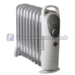 Radiateur d'huile 1000W Mini 9 articles