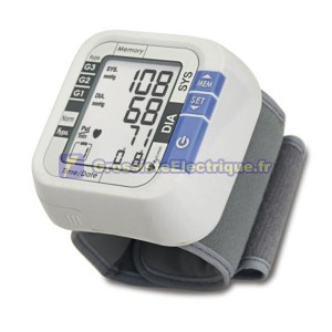 Pression artérielle Wrist LCD