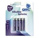Boîte de 10 blisters de 4 unités de piles alcalines LR-03 (AAA) la CGC