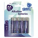 Boîte de 10 blisters de 4 unités de piles alcalines LR-6 (AA) la CGC