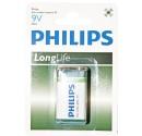Boîte de 12 ampoules de 1 pièce pile 9V PHILIPS sel