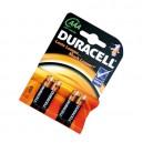 Boîte de 10 blisters de 4 unités de piles alcalines de base LR-03 (AAA) DURACELL