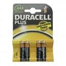 Boîte de 10 blisters de 4 unités de piles alcalines LR-03 Plus (AAA) DURACELL