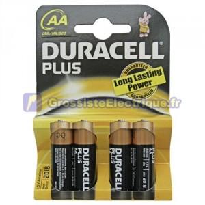 Boîte de 20 ampoules de 4 unités plus piles alcalines LR-06 (AA) Duracell