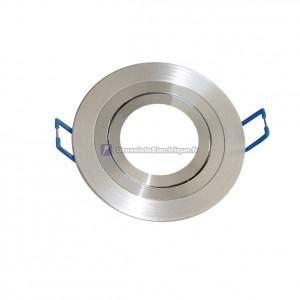 Montage bague de bras oscillant en aluminium rond lisse 90 mm.