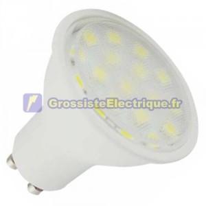 Ampoule LED 5W GU10 lumière chaude 120