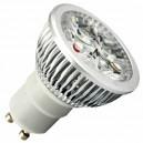 Encadré 10 6W GU10 ampoules LED (4x2W) des 38e chaud 2700K