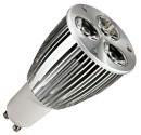 Encadré 10 ampoules dichroïque 3x3W (9W) LED ultrabrillant, GU10 230V 2700K chaud