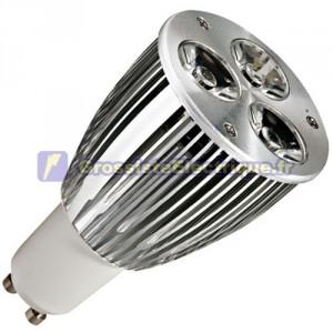 Ampoule LED GU10 9W (4x3W) 420Lm 6400K