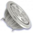 12W AR111 G53 a mené les ampoules 3000K chaud
