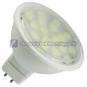 Ampoule LED MR16 G5, 3 120 4W lumière chaude