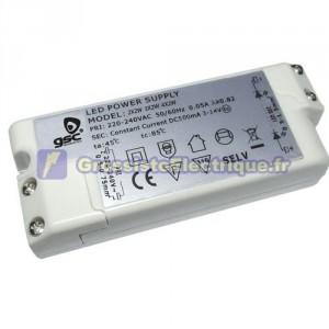 Driver pour LED 2W - 500mA - 3-14V