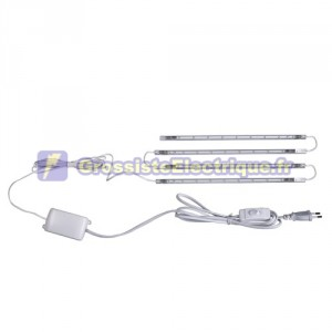 Kit de 4 bandes LED rigides 25 cm 4x0, 75W (3W)