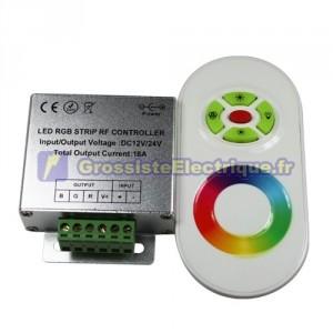 Contrôleur pour LED RGB avec une touche bandes à distance