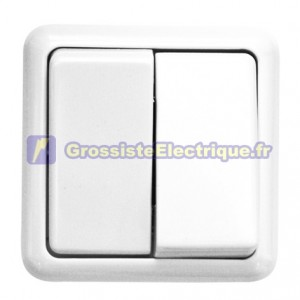 Double Surface White Switch