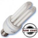Boîte de 10 ampoules économes en énergie 28W E27 4U chaudes T4 faible coût