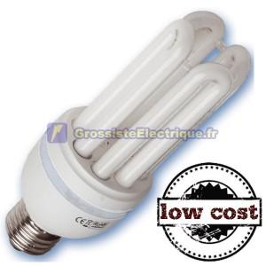 Boîte de 10 Ampoules E27 28W T4 4U coûts froide bas