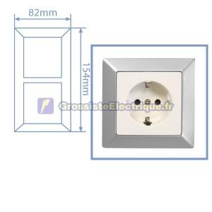 Silver Frame Mate 2 modules