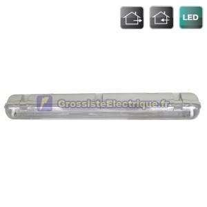 Étanches T8 LED 1 x 120 cm (équivalent à 1x36W)