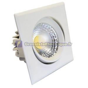 COB LED Downlight Tilt Aro 450 lm 5W Blanc Froid