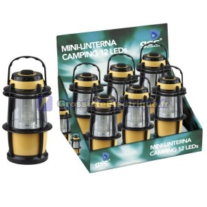 Exposant de 6 Mini-camping lanternes 12 LED