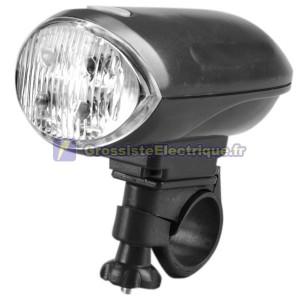 Lampe de poche 4-LED de vélo avec clip de fixation